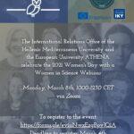 Webinar in Women in Science
