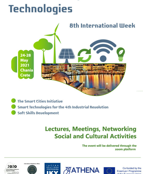 Intensive Course in Smart Cities and Technologies