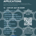 Intensive Course in Layered Materials & Applications